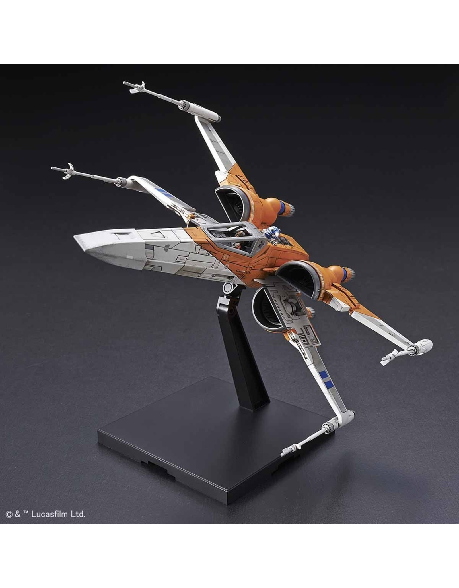 BANDAI 1:72 POE'S X-WING FIGHTER (STAR WARS: THE RISE OF SKYWALKER)