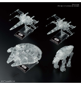 BANDAI 1:144 & 1:350 & 1:540 [STAR WARS: THE LAST JEDI] CLEAR VEHICLE SET