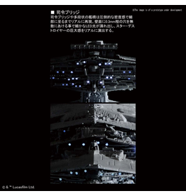 BANDAI 1:5000 STAR DESTROYER [LIGHTING MODEL] LIMITED EDITION