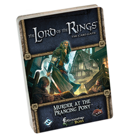 Fantasy Flight LORD OF THE RINGS LCG: MURDER AT THE PRANCING PONY
