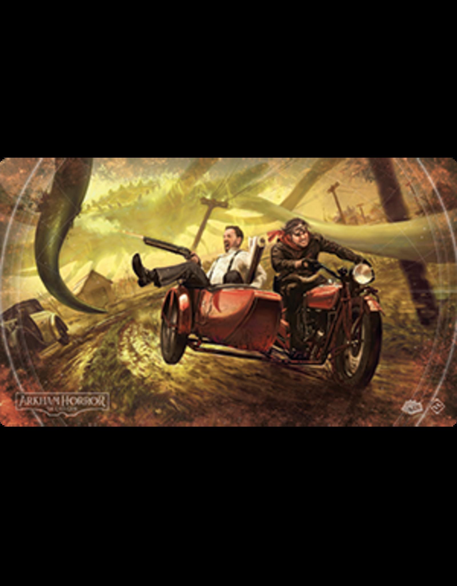 Fantasy Flight ARKHAM HORROR LCG: NARROW ESCAPE PLAYMAT