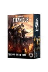 Games Workshop ADEPTUS TITANICUS: WARLORD BATTLE TITAN