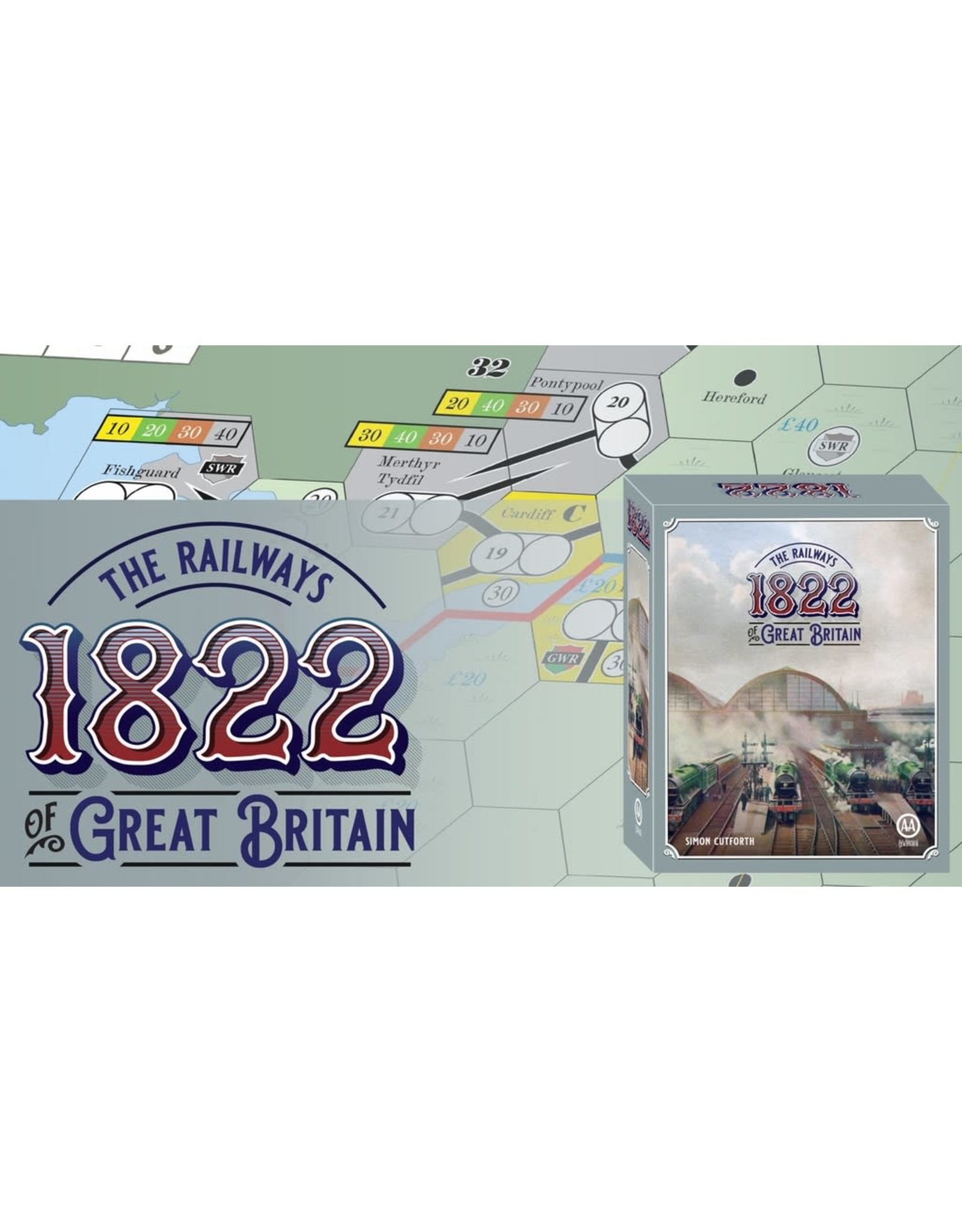All-Aboard Games 1822: The Railways of Great Britain [KS]