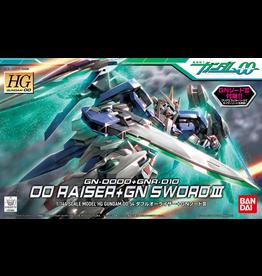 BANDAI HG 1/144 #54 OO Raiser + GN Sword