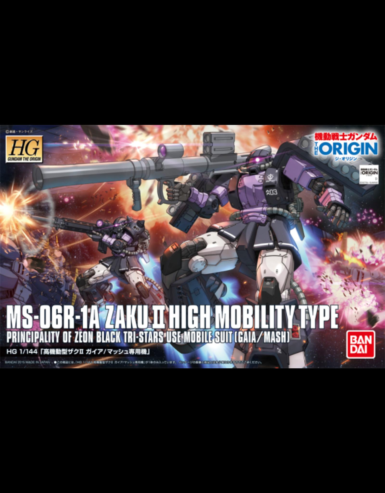 BANDAI 1/144 HGOG Zaku II High Mobility Type Gaia / Mash