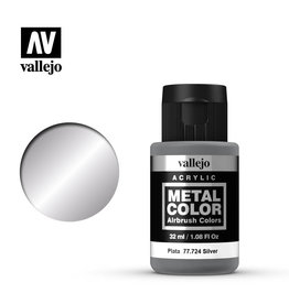 VALLEJO METAL COLOR: SILVER (32ML)