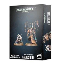 Games Workshop CHAOS SPACE MARINES: FABIUS BILE