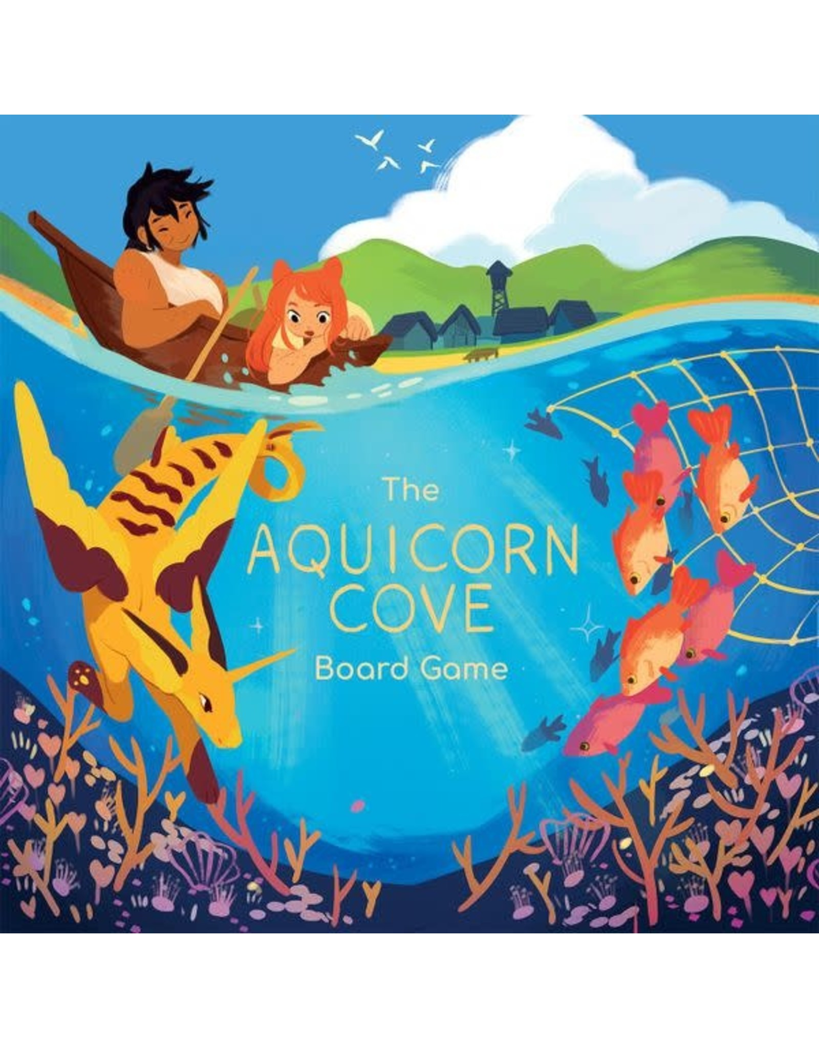 Renegade AQUICORN COVE BOARD GAME