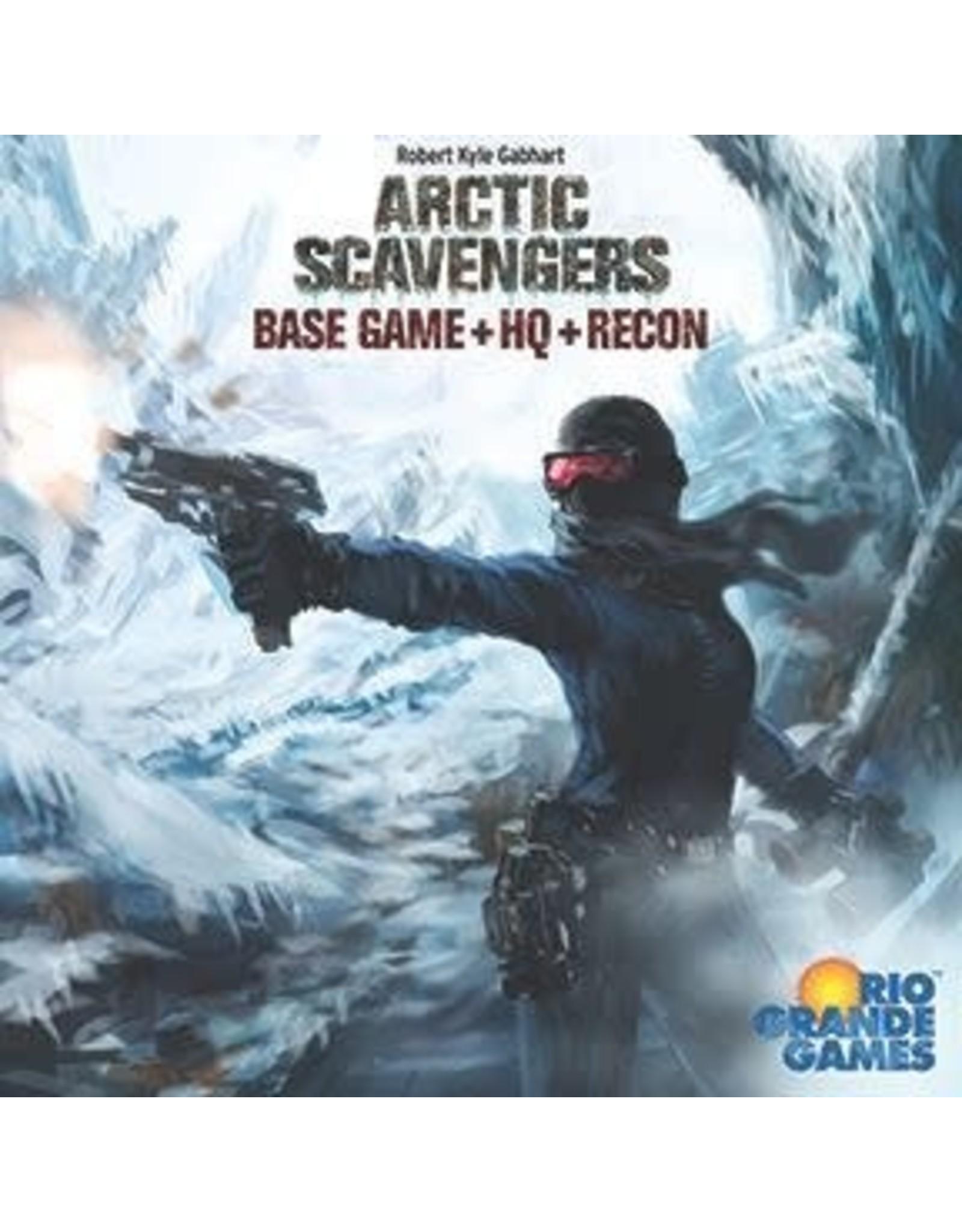 ARCTIC SCAVENGERS BASE GAME + HQ + RECON