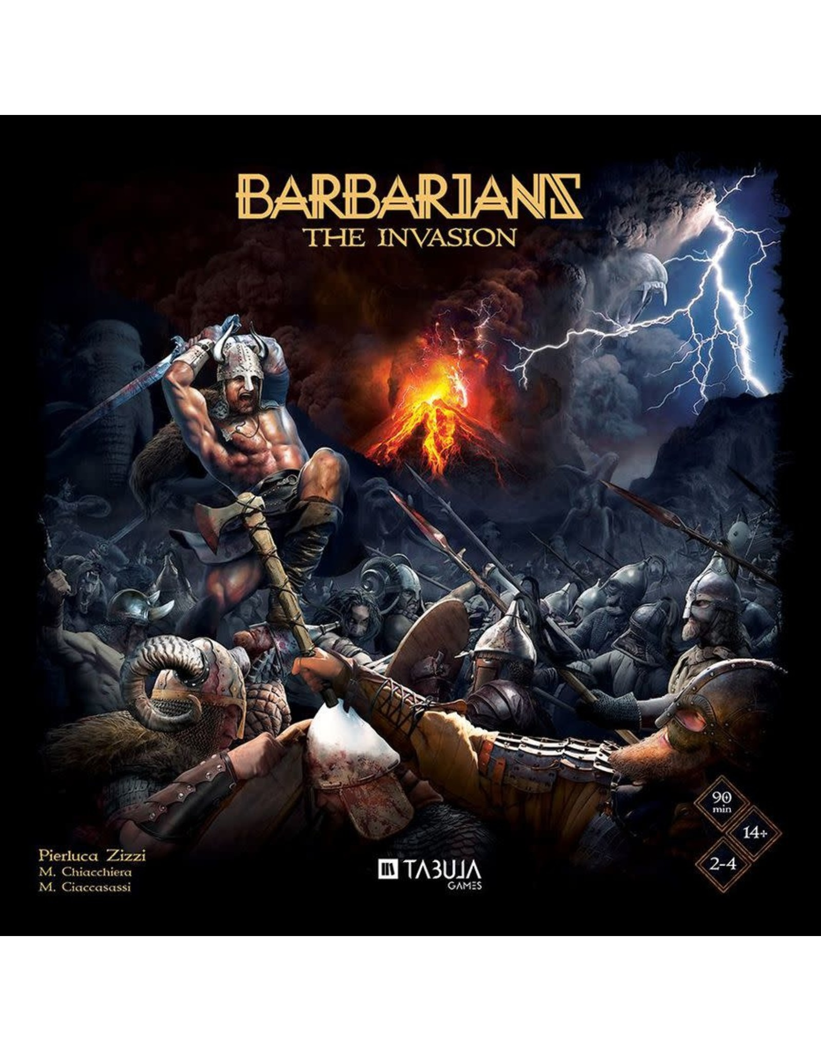 Tabula Games BARBARIANS: THE INVASION [KICKSTARTER]