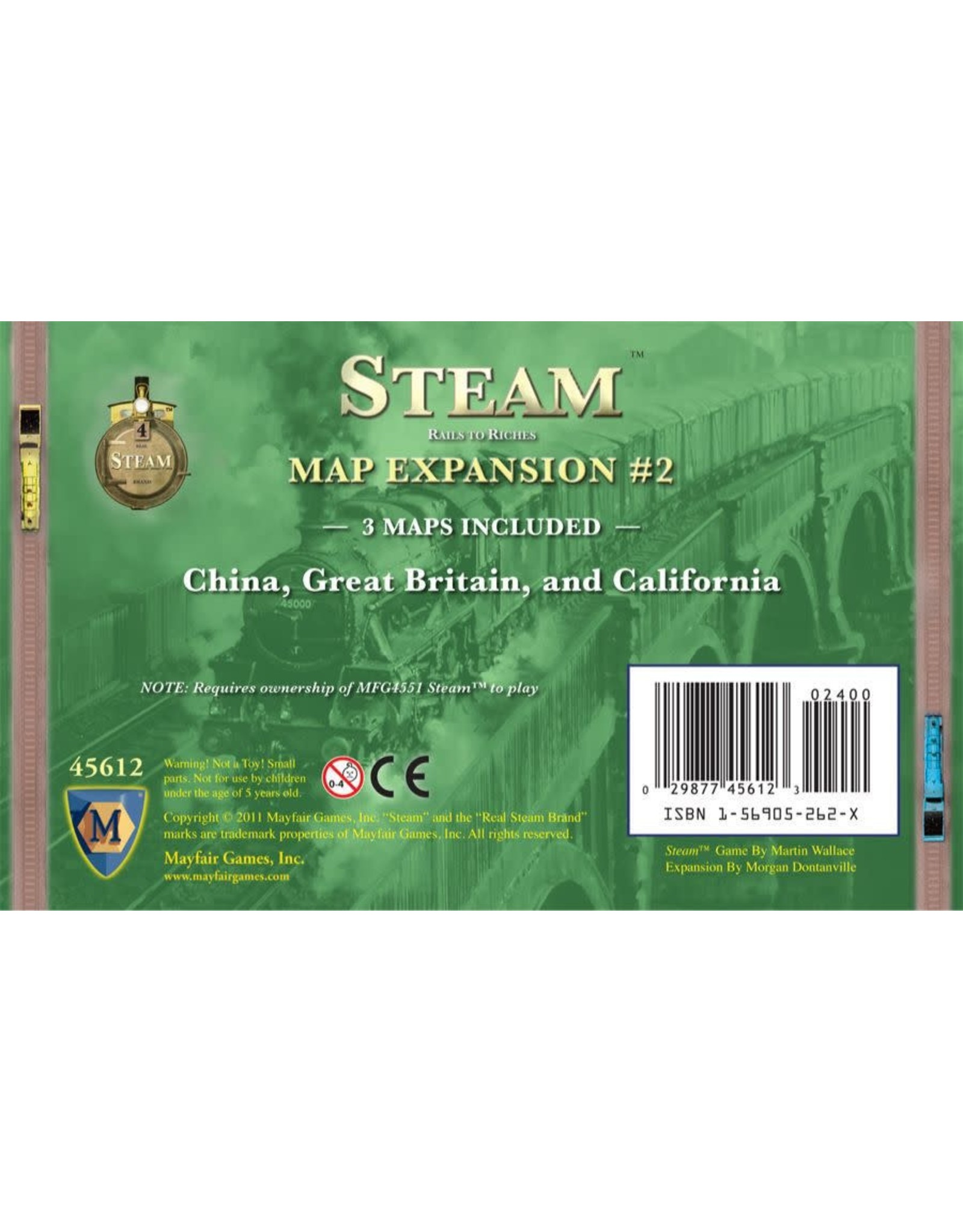 Mayfair Games STEAM: MAP EXPANSION #2