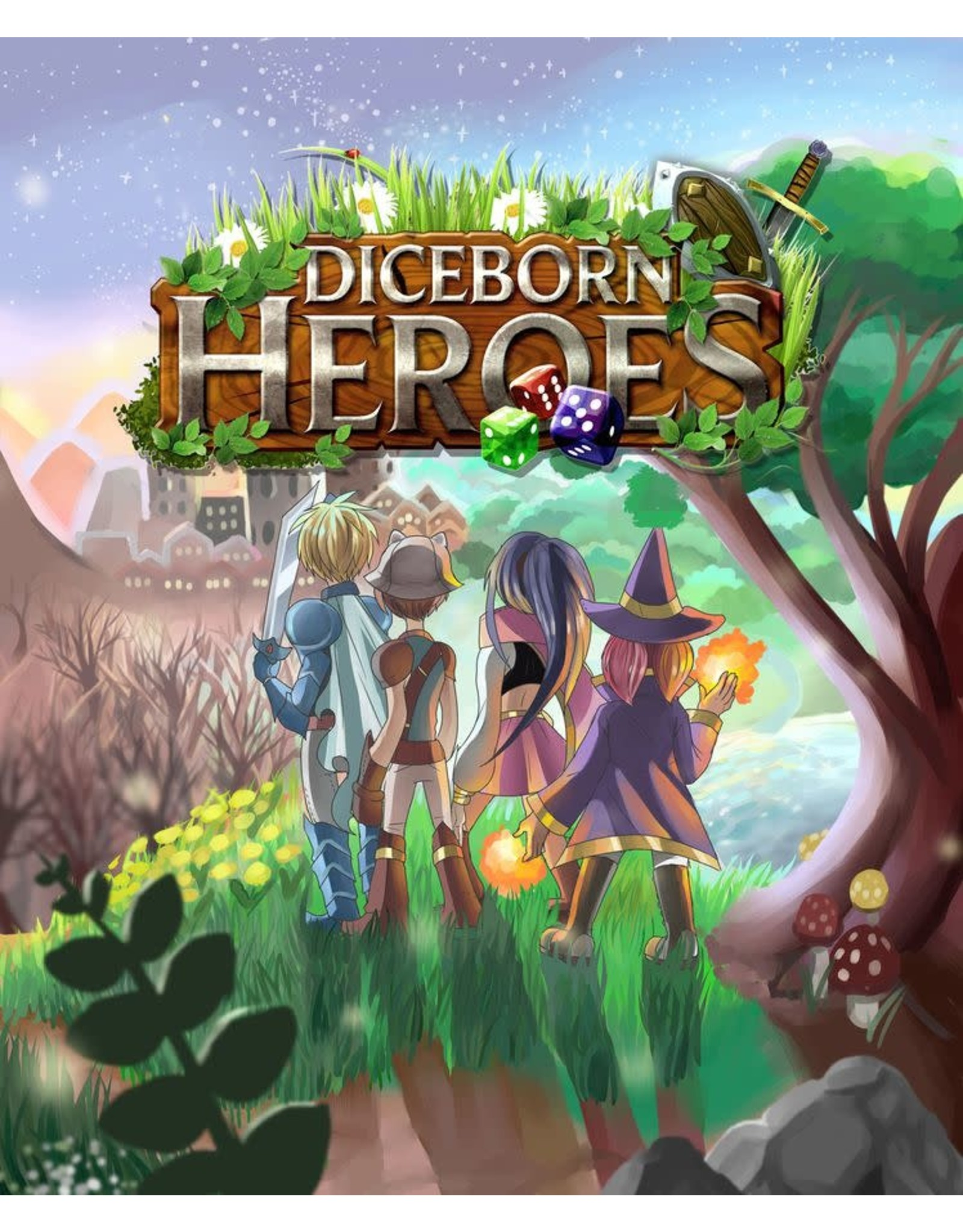 Diceborn Games DICEBORN HEROES WITH CAMPAIGN TREASURE PACK [KICKSTARTER]