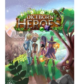 Diceborn Games DICEBORN HEROES WITH CAMPAIGN TREASURE PACK [KICKSTARTER]