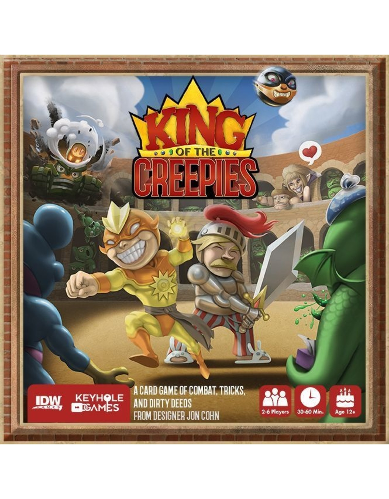 IDW Games KING OF THE CREEPIES