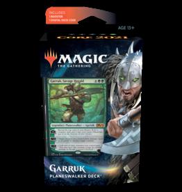 Wizards of the Coast MTG CORE 2021 PLANESWALKER DECK: GARRUK