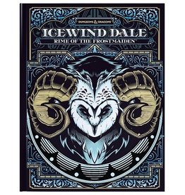 Wizards of the Coast D&D 5E ICEWIND DALE: RIME OF THE FROSTMAIDEN (ALT) HC