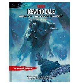 Wizards of the Coast D&D 5E ICEWIND DALE: RIME OF THE FROSTMAIDEN HC