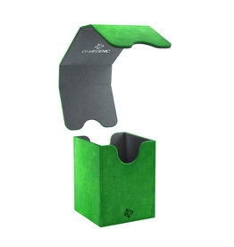 Gamegenic DECK BOX: SQUIRE CONVERTIBLE GREEN 100CT