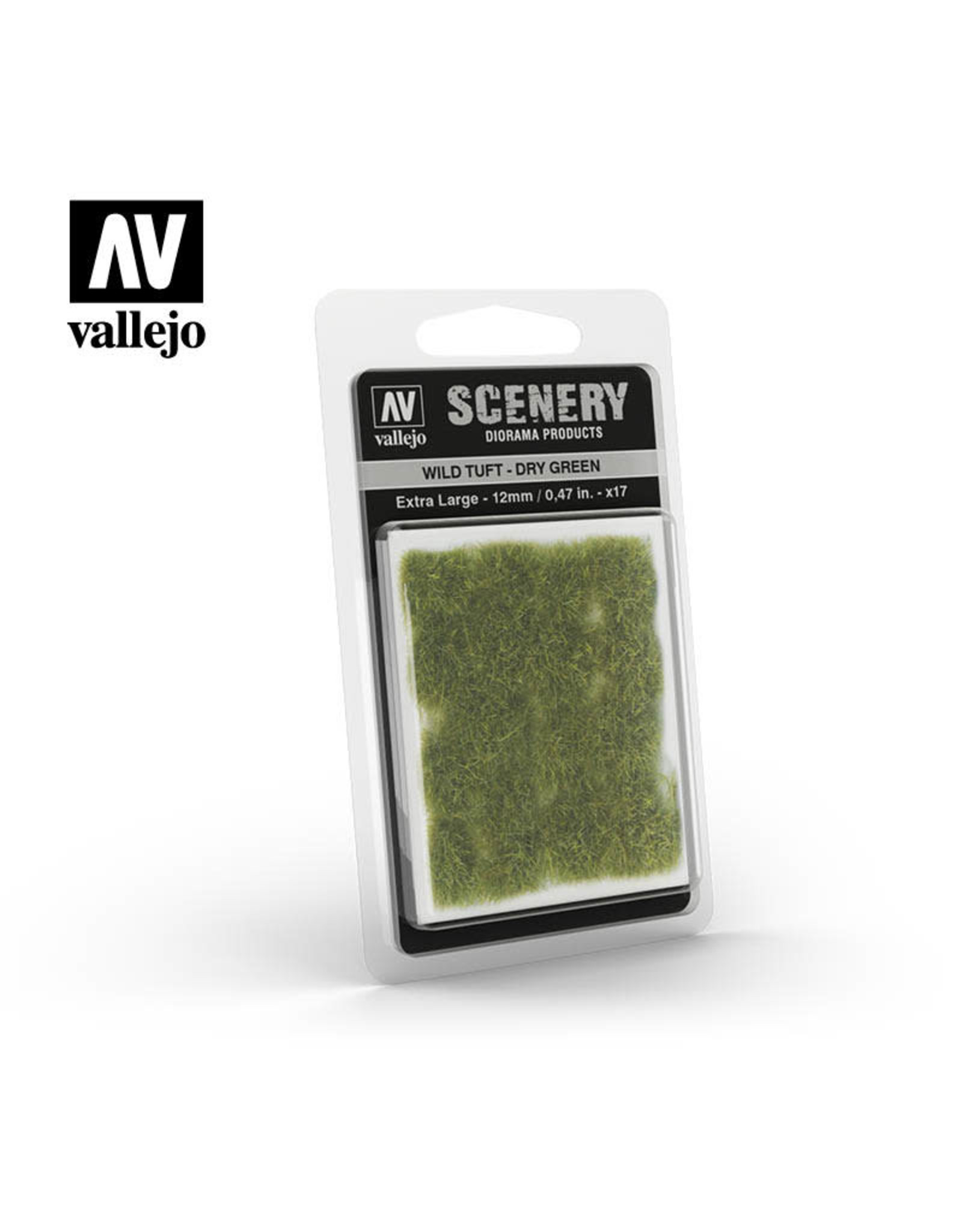 VALLEJO VALLEJO WILD TUFT DRY GREEN EXTRA LARGE