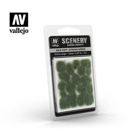 VALLEJO VALLEJO WILD TUFT STRONG GREEN EXTRA LARGE