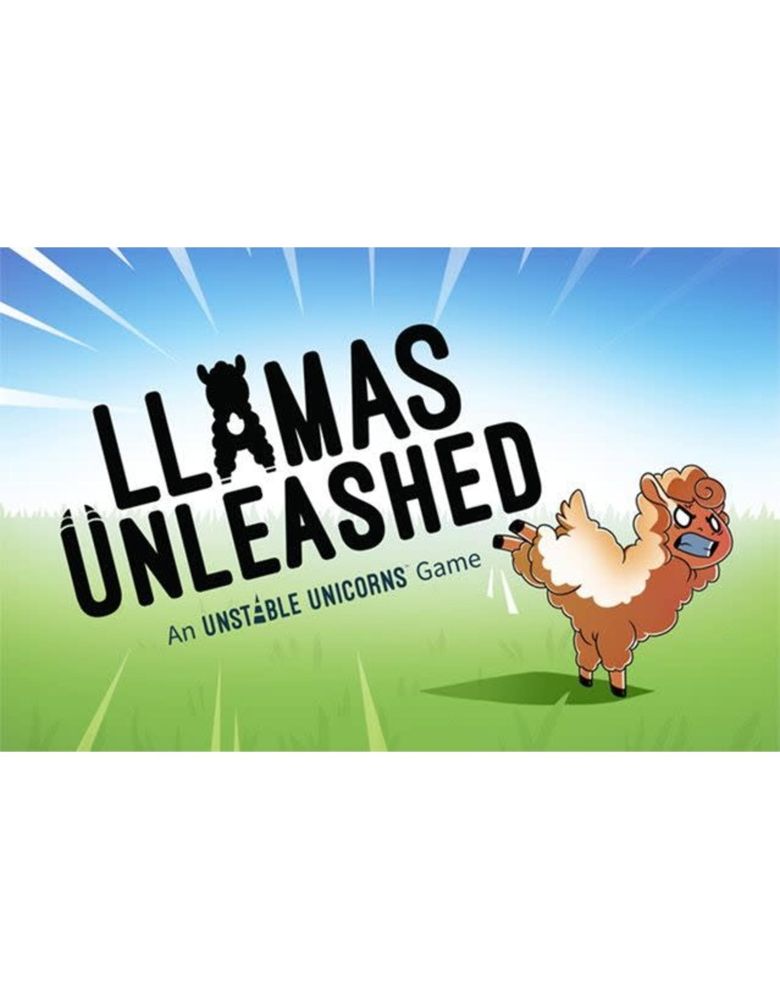 Unstable Games LLAMAS UNLEASHED