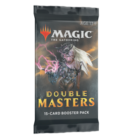 Wizards of the Coast DOUBLE MASTERS DRAFT BOOSTER PACK