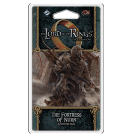Fantasy Flight LORD OF THE RINGS LCG: THE FORTRESS OF NURN ADVENTURE PACK  (STREET DATE OCT 2, 2020)