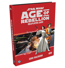 Fantasy Flight STAR WARS AGE OF REBELLION RPG CORE RULEBOOK