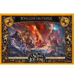 CMON A SONG OF ICE & FIRE: R'HLLOR FAITHFUL