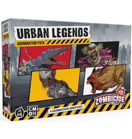 CMON ZOMBICIDE 2E: URBAN LEGENDS ABOMINATION PACK (STREET DATE 2021)