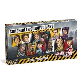 CMON ZOMBICIDE 2E: CHRONICLES SURVIVORS SET (STREET DATE 2021)