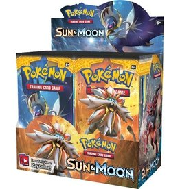 The Pokemon Company International POKEMON SUN & MOON BOOSTER PACK