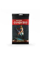 Games Workshop WARCRY: TZEENTCH ARCANITES CARD PACK