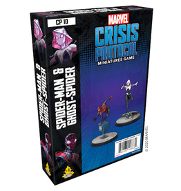 ATOMIC MASS GAMES MARVEL CRISIS PROTOCOL: GHOST-SPIDER & SPIDER-MAN CHARACTER PACK