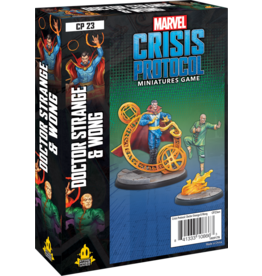 ATOMIC MASS GAMES MARVEL CRISIS PROTOCOL: DR. STRANGE AND WONG (STREET DATE AUG 17, 2020)