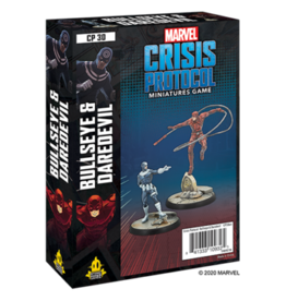 ATOMIC MASS GAMES MARVEL CRISIS PROTOCOL: BULLSEYE AND DAREDEVIL CHARACTER PACK (STREET DATE NOV 13 2020)
