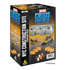 ATOMIC MASS GAMES MARVEL CRISIS PROTOCOL: NYC CONSTRUCTION SITE TERRAIN EXPANSION (STREET DATE NOV 13 2020)