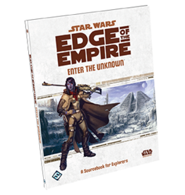 Fantasy Flight STAR WARS EDGE OF EMPIRE RPG: ENTER THE UNKNONW
