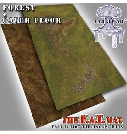 Tablewar FAT MATS - FOREST/CAVE FLOOR 6X3