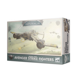 Games Workshop AERONAUTICA IMPERIALIS: IMPERIAL NAVY AVENGER STRIKE FIGHTERS
