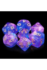 HengDa Dice 7PC RPG DICE - SECRET STARS