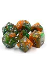 HengDa Dice 7PC RPG DICE - EMERALD VALE