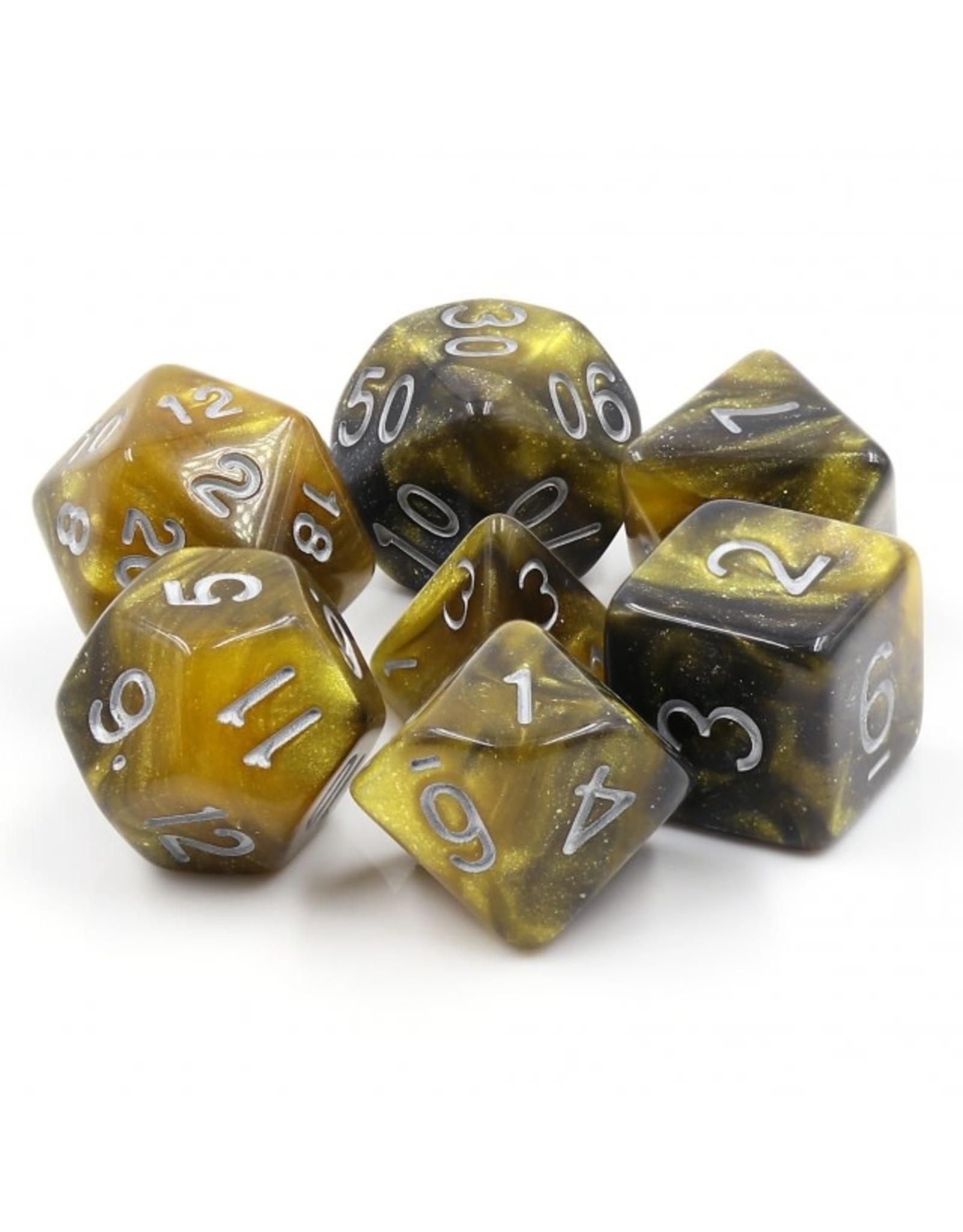 HengDa Dice 7PC RPG DICE - MONARCH