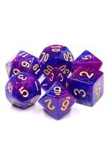 HengDa Dice 7PC RPG DICE - THOUSAND STARS