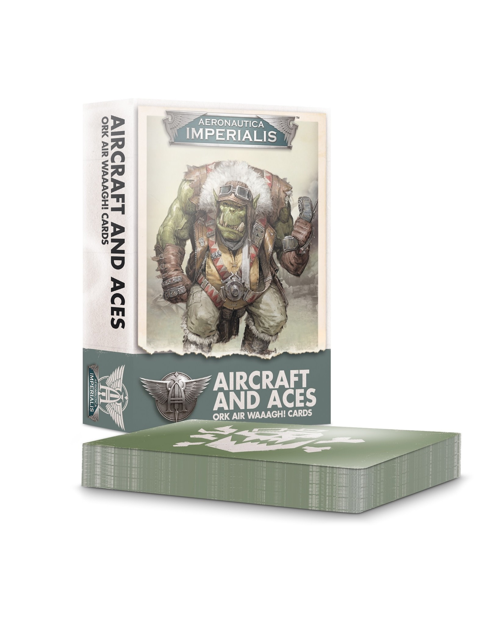 Games Workshop A/I AIRCRFT & ACES: ORK AIR WAAAGH! CRDS