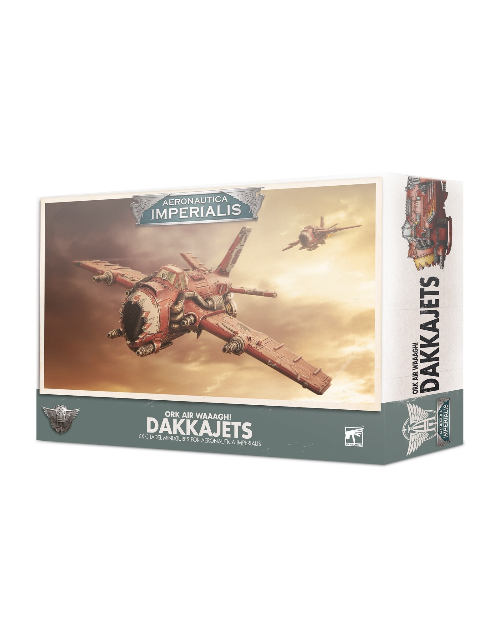Games Workshop A/I ORK AIR WAAAGH! DAKKAJETS