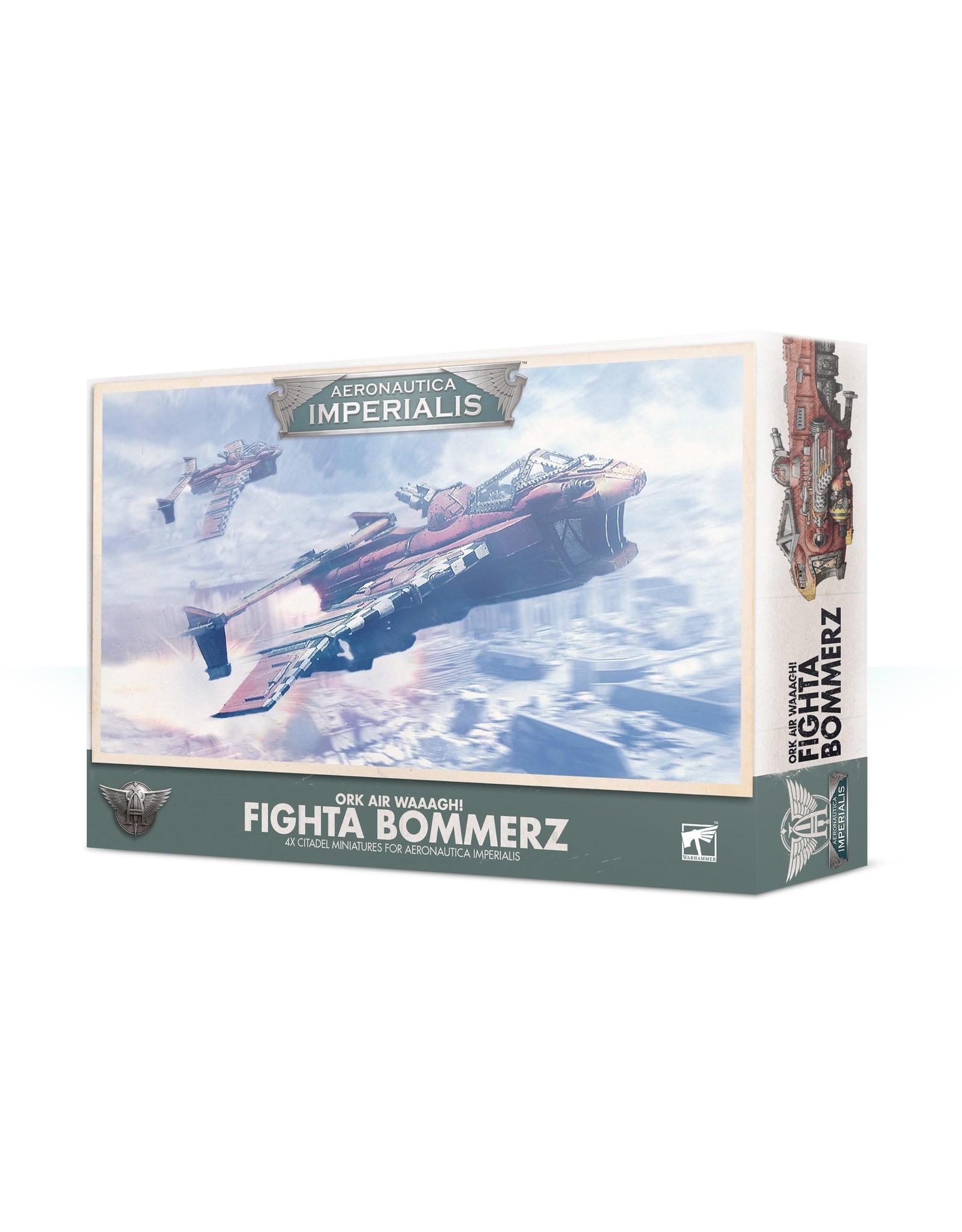 Games Workshop A/I ORK AIR WAAAGH! FIGHTA BOMMERZ