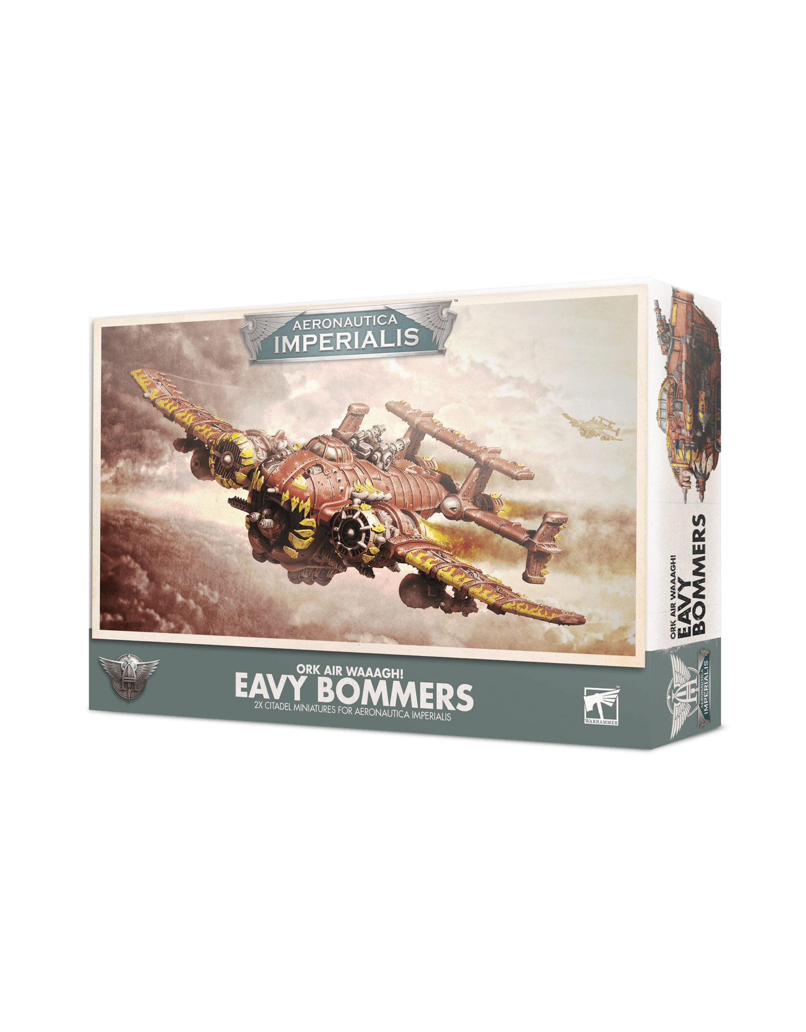 Games Workshop A/I ORK AIR WAAAGH! 'EAVY BOMMERZ