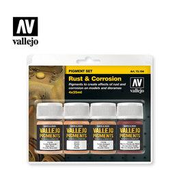 VALLEJO VALLEJO PIGMENT SET - RUST & CORROSION