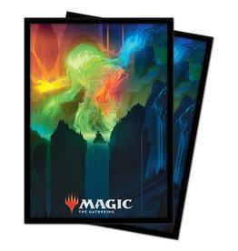 Ultra Pro SLEEVES: MAGIC THE GATHERING ZENDIKAR RISING OMNATH, LOCUS OF CREATION 100CT 63.5X89MM